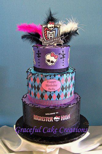 Phenomenal Walmart Birthday Cakes Monster High Monster High Birthday Cake Personalised Birthday Cards Veneteletsinfo