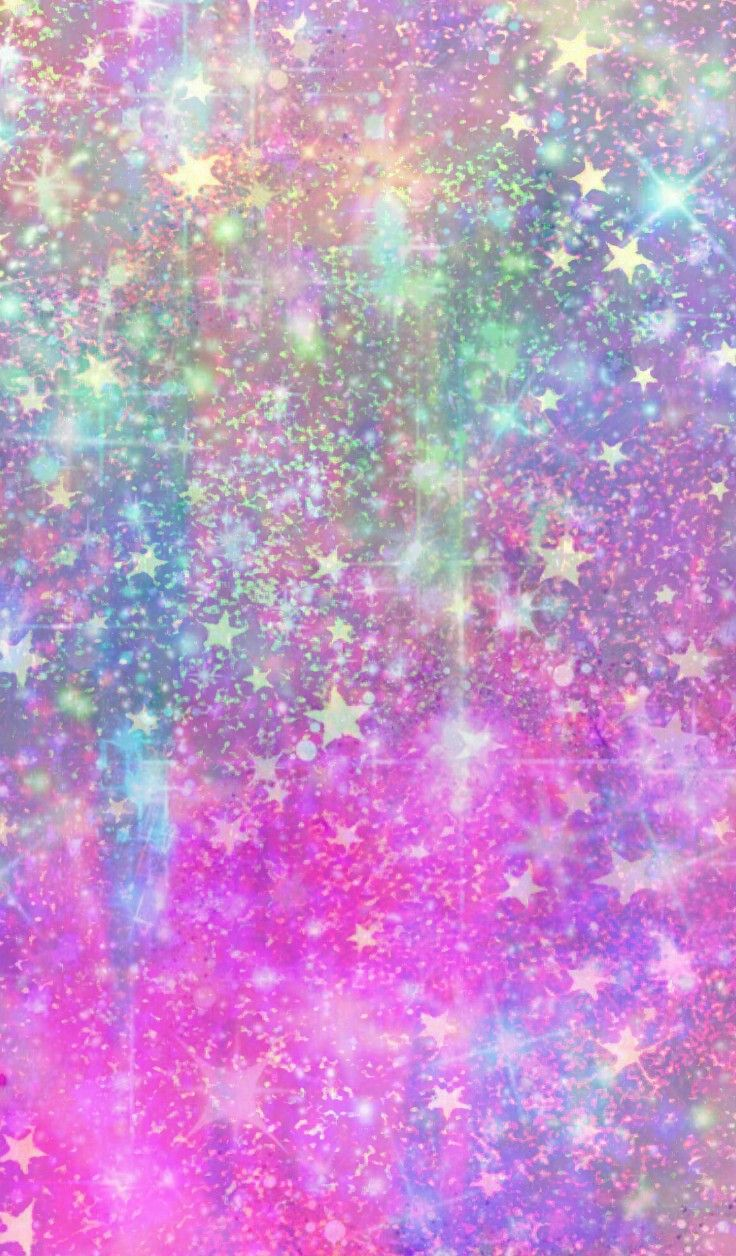 Colorful Starry Milkyway, made by me #stars #pastel # ...