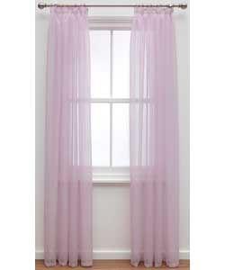 Colourmatch Voile Panels 152x228cm Bubblegum Pink Argosroominspiration