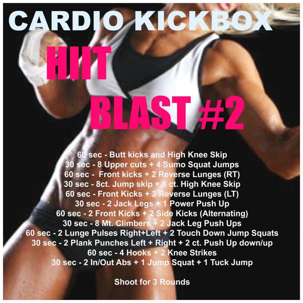 Cardio Kickboxing HIIT Blast #2 *WORKOUT*   Hiit Blog ...