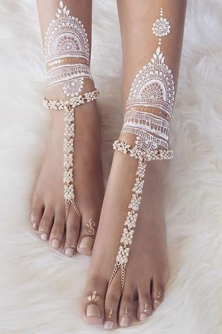 Deep Sea Barefoot Sandals Gold by Forever Soles Perfect for your