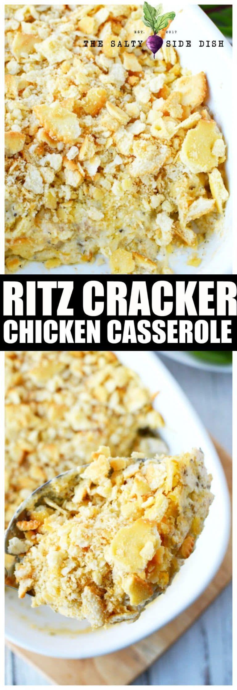 Chicken casserole with ritz crackers ritz chicken
