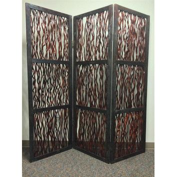 """You'll love the 72"""" x 72"""" Branch Screen 3 Panel Room Divider at Wayfair - Great Deals on all Décor  products with Free Shipping on most stuff, even the big stuff."""