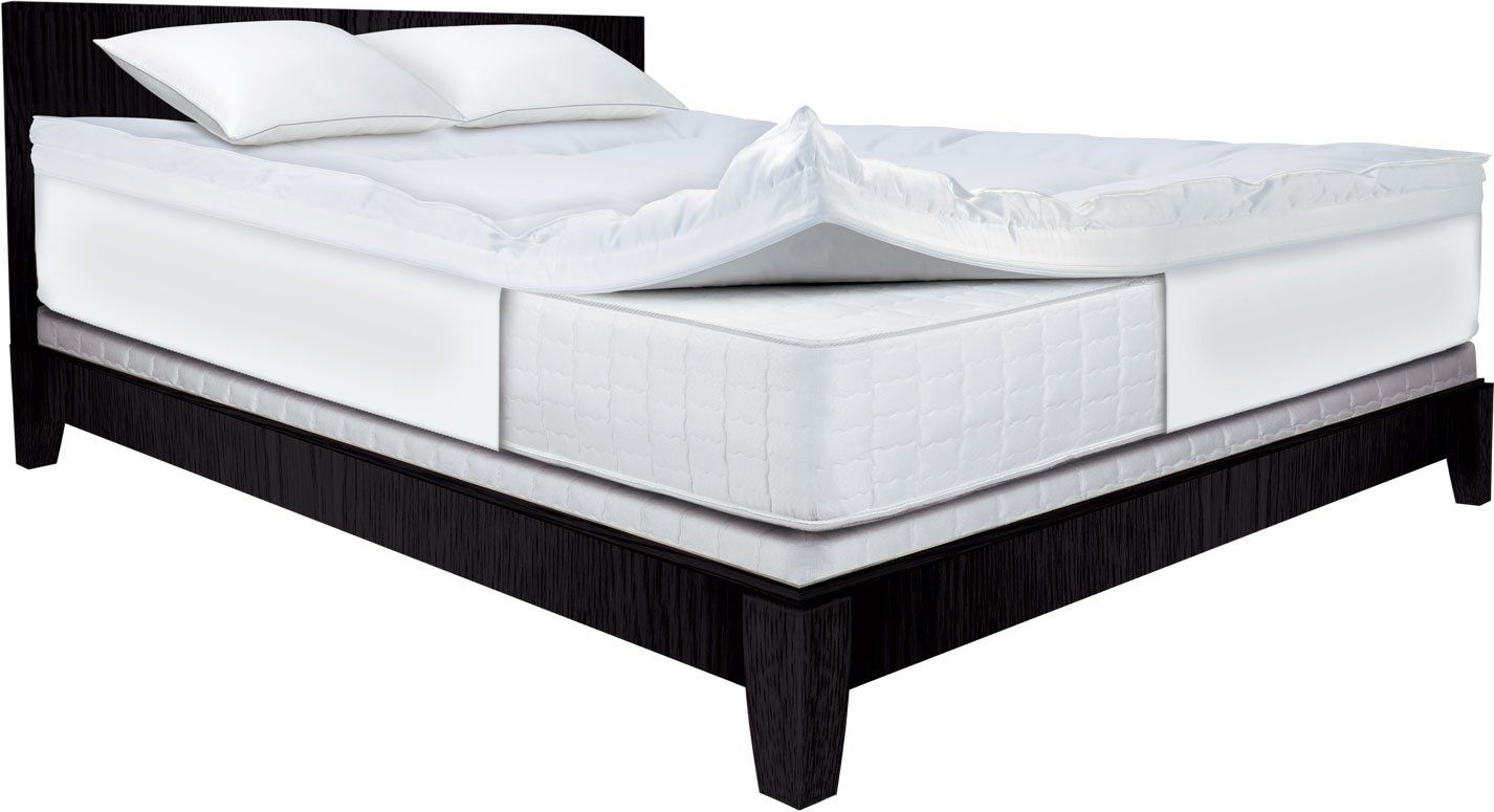 serta 4 inch dual layer mattress topper queen home pinterest