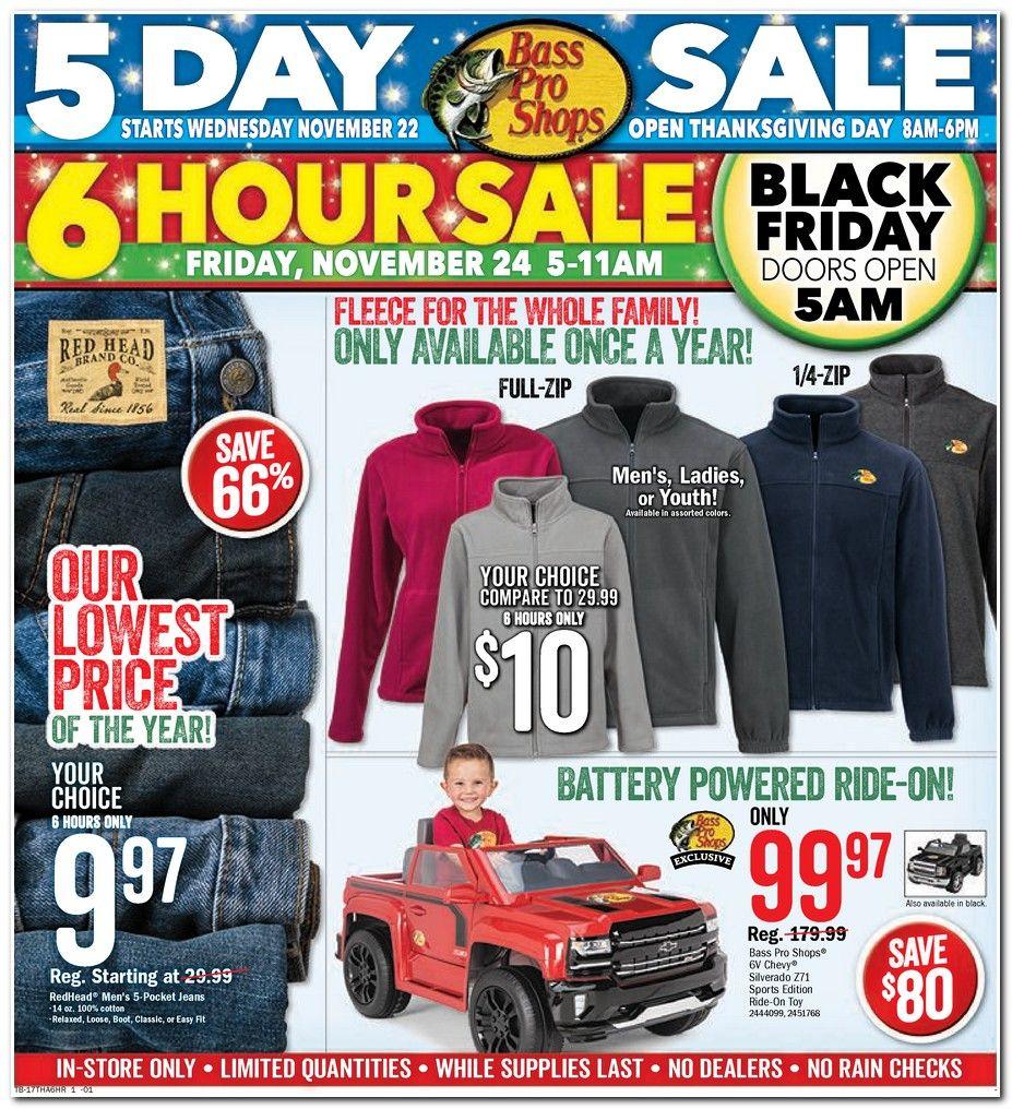 Bass Pro Shops Black Friday Ad Scan 2018 Black Friday Shopping Black Friday Ads Black Friday