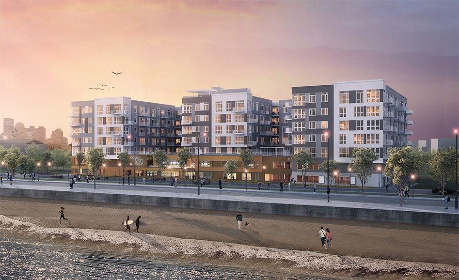 650 Ocean | Ocean, New york skyline, Apartment building