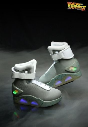 f0399d88977 Your child will love sporting shoes just like Marty s from Back to the  Future with these light-up replicas!