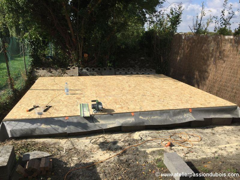 Construction atelier bois construction d 39 un atelier atelier bois construction et bois - Baraque de jardin ...