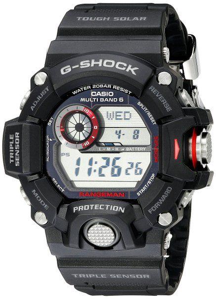 "Amazon / Casio Men's GW-9400-1CR ""Master of G"" Stainless Steel Solar Watch: $190"