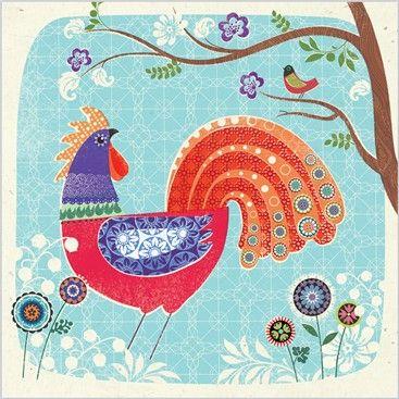 design by Rueben McHugh inspired by European folk art