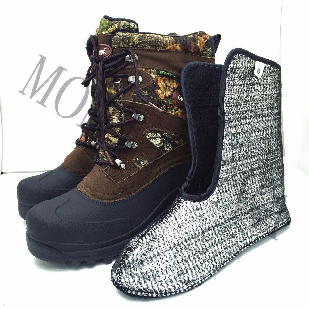 Waterproof Men's Leather 10 Work Landmark snow Boots winter txshQrdC