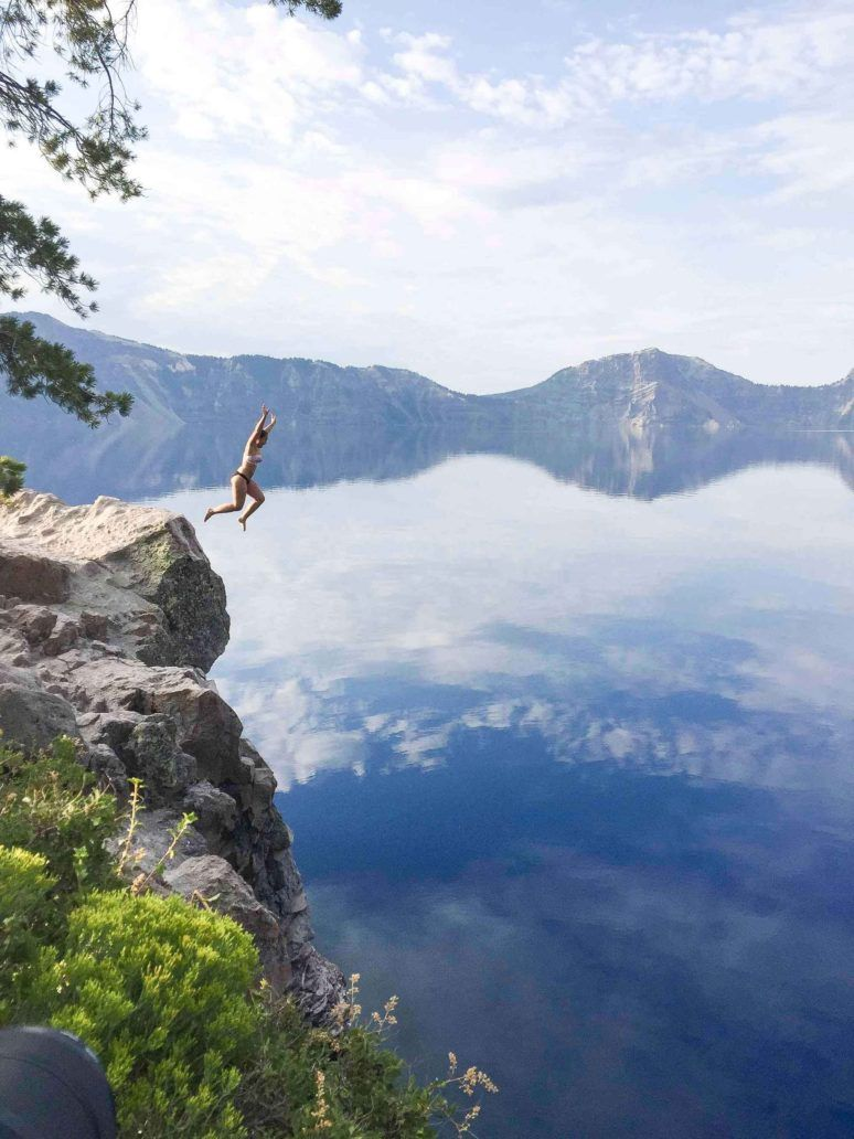 WHY YOU SHOULD JUMP IN AT CRATER LAKE, OREGON