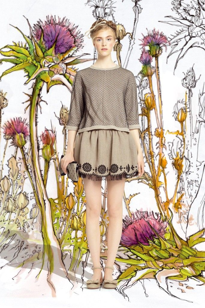 Red Valentino RTW Spring 2014 - Slideshow