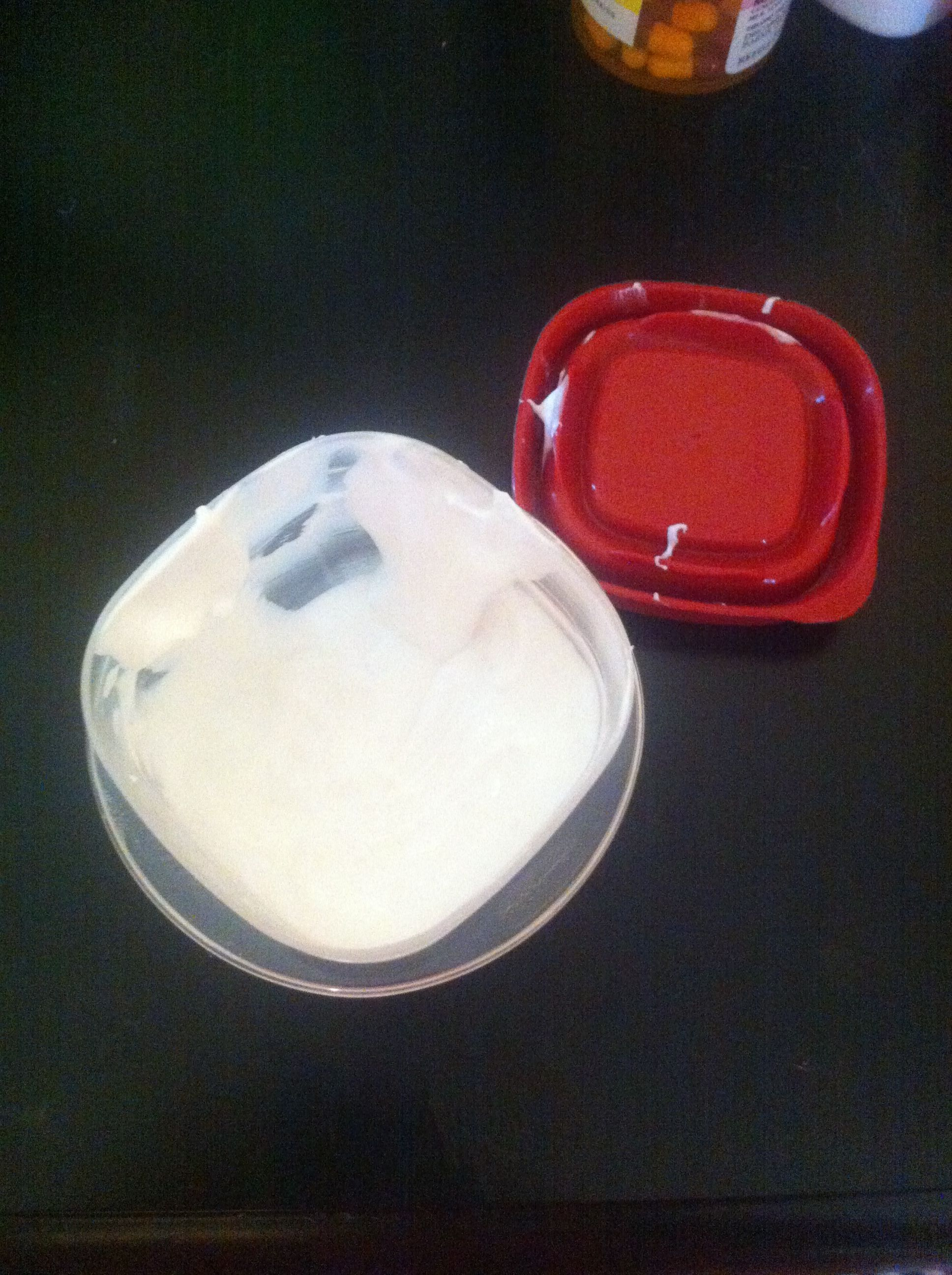Homemade teeth whitening paste 2 oz of tooth paste 2 1