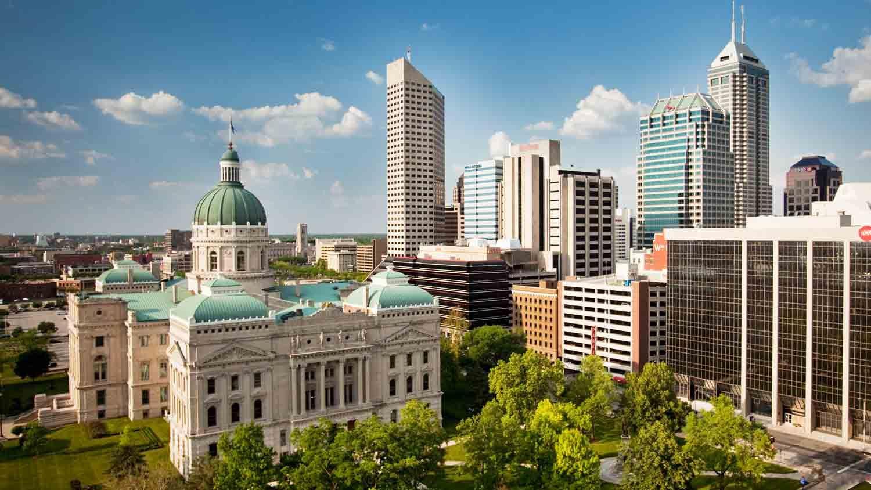 Indiana State Capitol Indianapolis Landmarks Pinterest Indiana