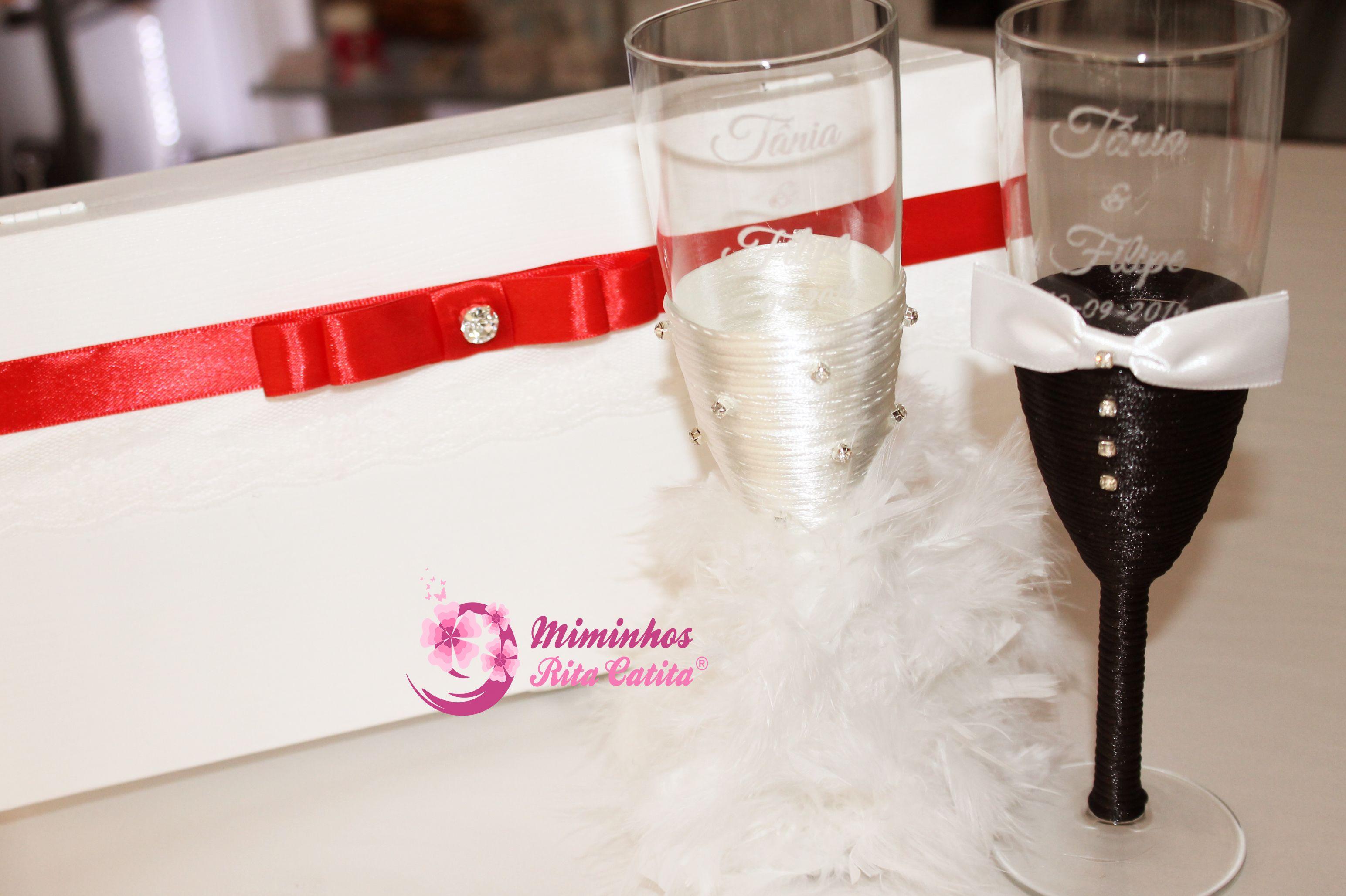 Flutes para Brinde dos Noivos