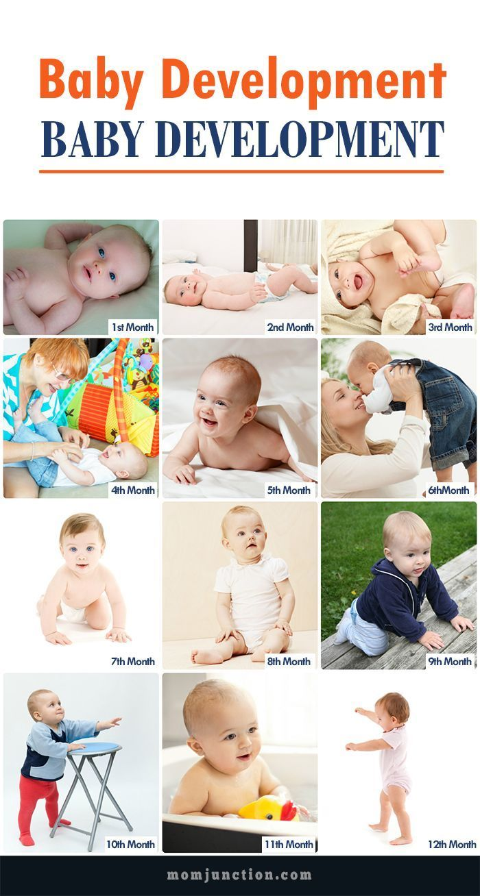 Child development by months: from birth to one year