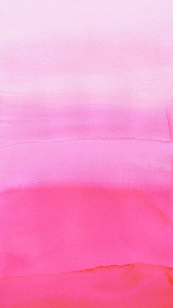 Pink ombre watercolour phone wallpaper iphone background