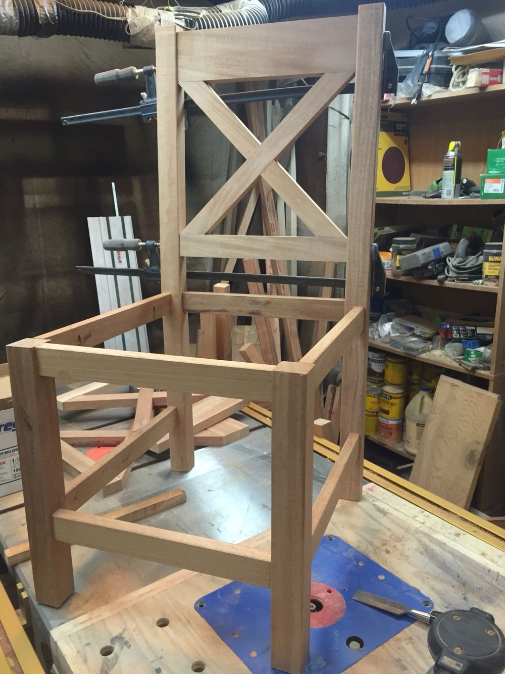 Building 10 chairs!!