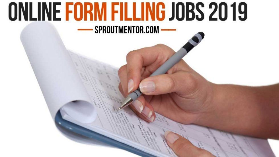 Trusted Form Filling Jobs Online Form Filling Jobs Without Investment Daily Payment Sproutmentor In 2020 Under The Table Jobs Online Jobs From Home Money Making Jobs