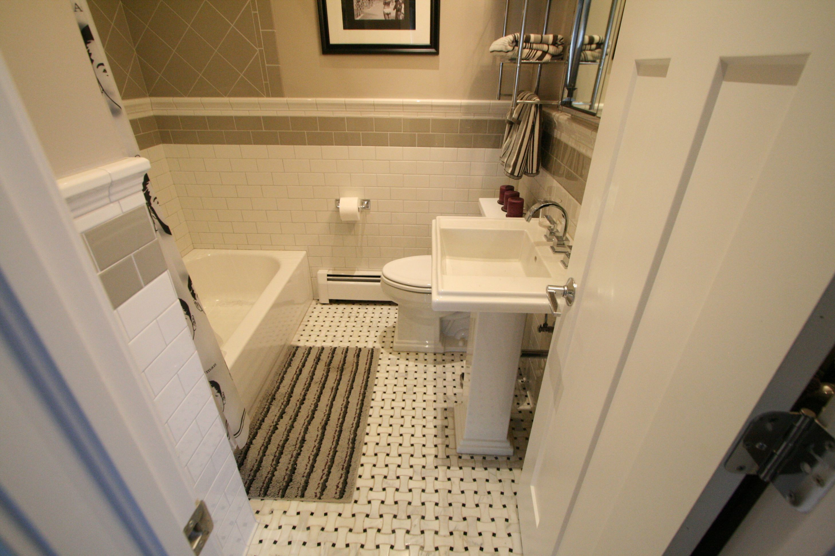 40 wonderful pictures and ideas of 1920s bathroom tile designs ...