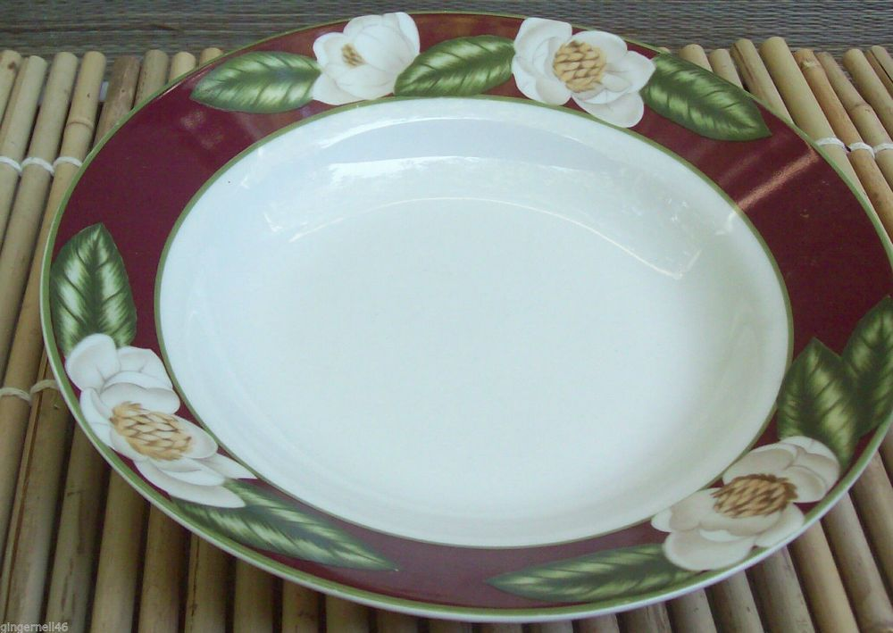 American Atelier Magnolia Blossom 8 inch Bowl Porcelain Replacement Piece #AmericanAtelier