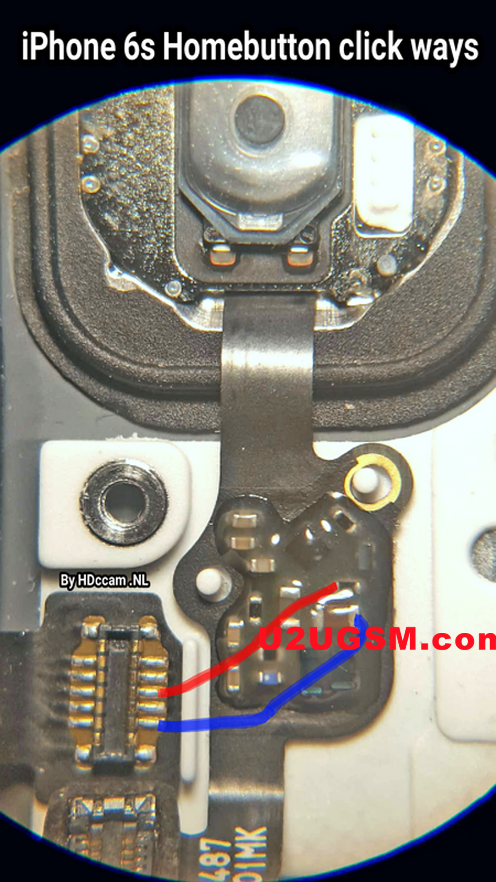 iphone 6s home key button not working problem solution jumper is not working repairing diagram easy steps to solve full tested [ 1000 x 1778 Pixel ]