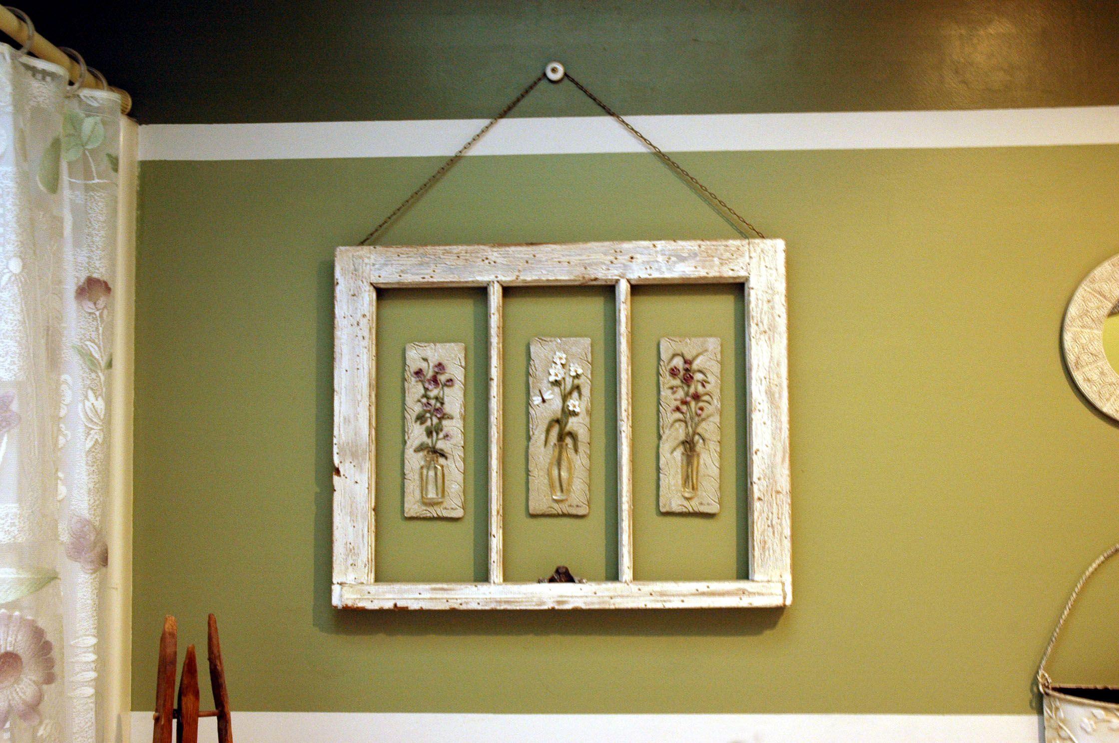 Framed Bathroom Art   Window frames, Window and Bathroom art