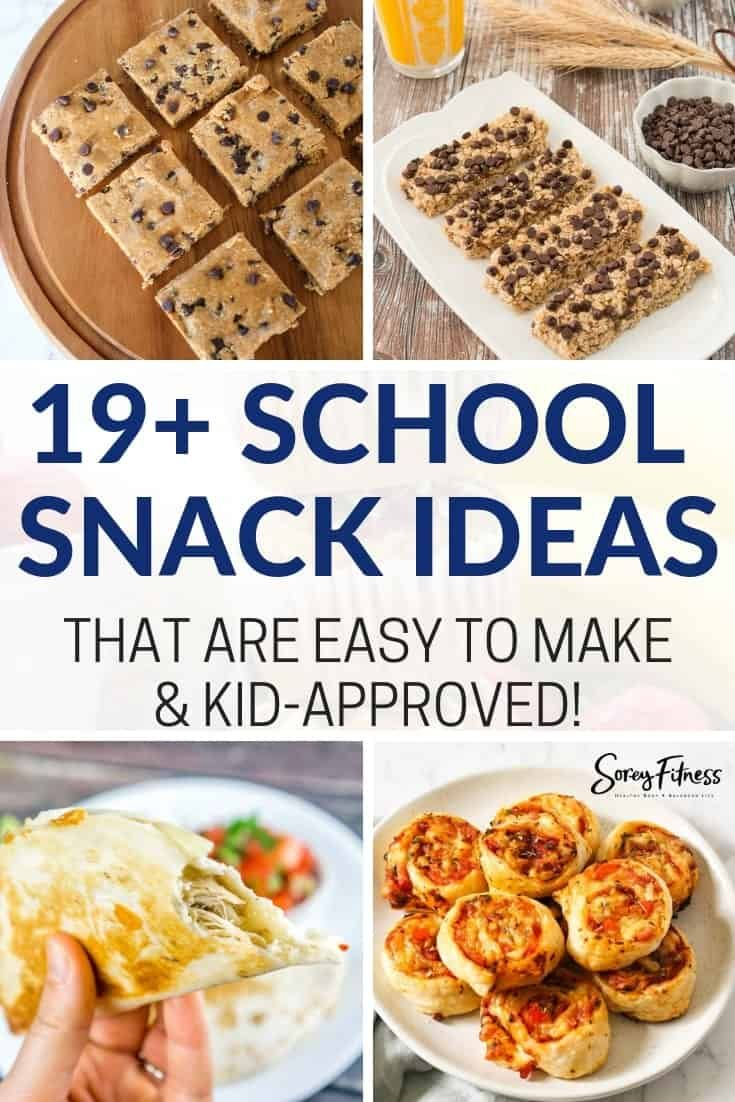 Healthy School Snacks | 19+ Quick & Easy Ideas For Back to School