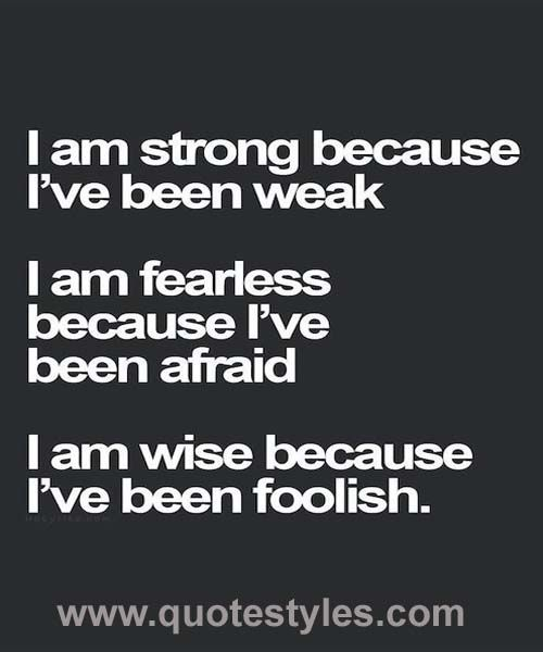 I Am Strong Because Inspirational Quotes Motivational Quotes Positive Quotes Inspirational Words
