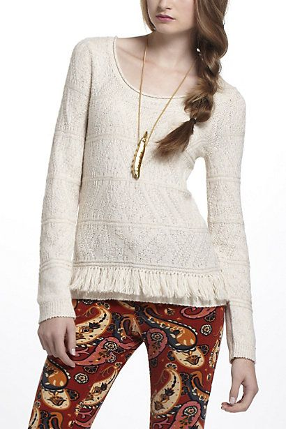 Interlaken Sweater - Anthropologie.com