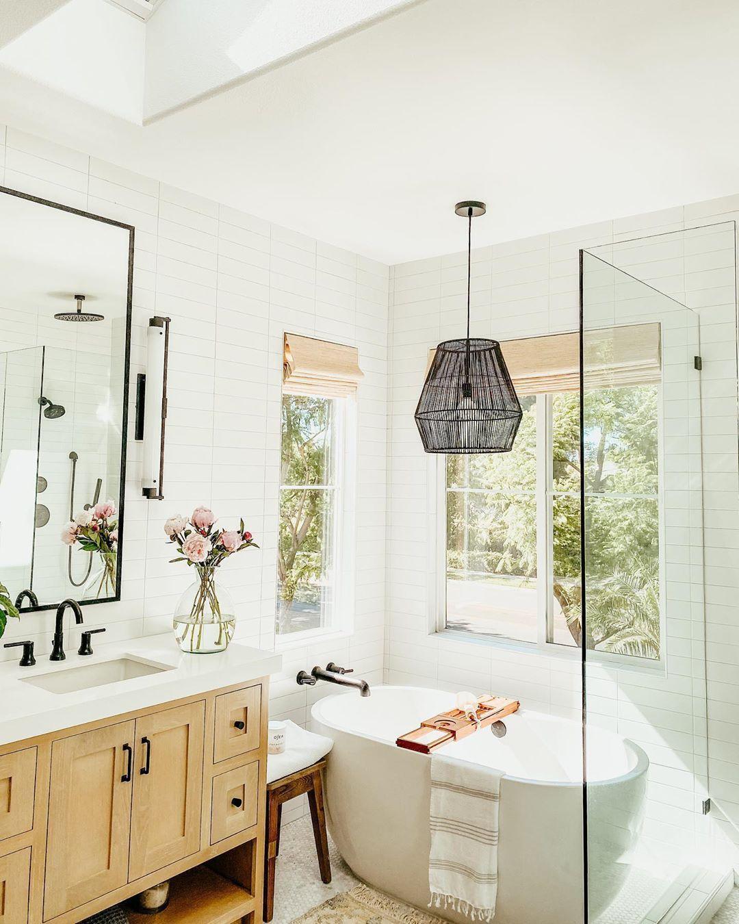 California Casual Bathroom In 2020 Kitchen Cabinets In Bathroom Home Remodeling Diy Cabinet Doors