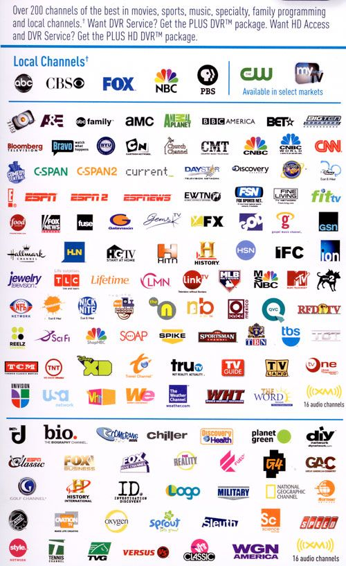 Television Channels And Tv Shows Direct Tv Packages