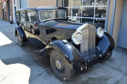 17761 This 1937 Rolls Royce Phantom Iii Hooper Body Coupe It Is Equipped With A 4 Speed