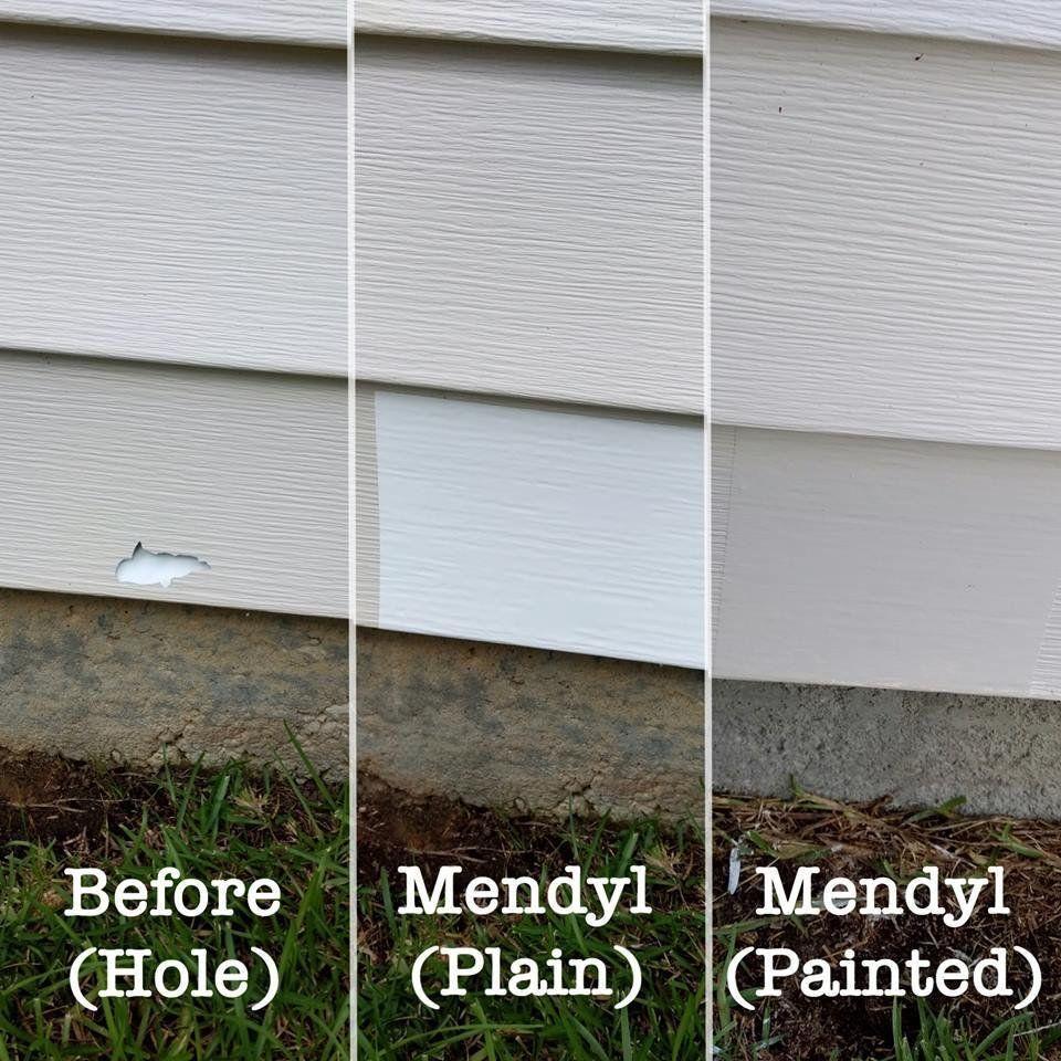 Mendyl Vinyl Siding Repair Kit Cover Any Cracks Holes Or Blemishes On Vinyl Siding 2 Patches Walmart Com Vinyl Siding Repair Siding Repair Vinyl Siding
