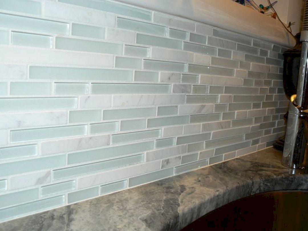 15 Sea Glass Kitchen Backsplash Decoredo Glass Tiles Kitchen