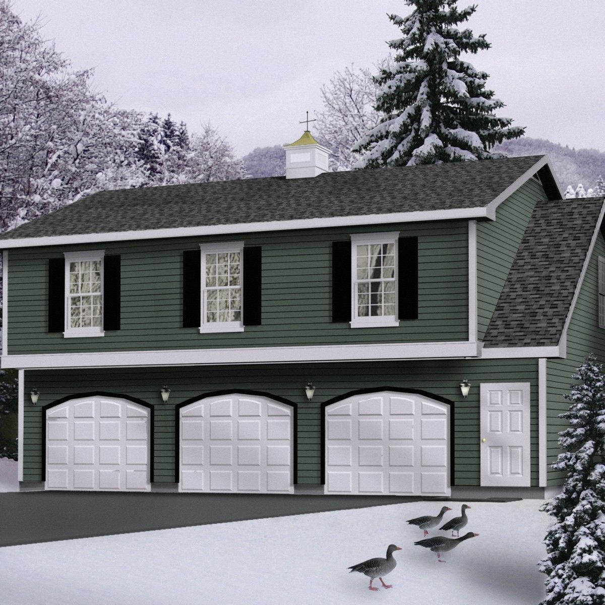 Cost To Build Apartment Over Garage : AWESOME HOUSE