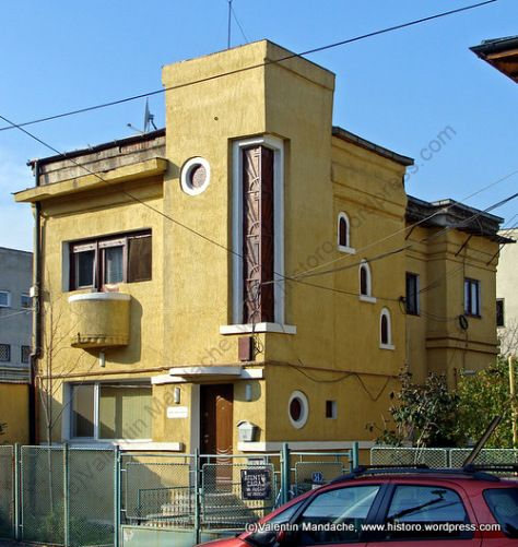 Art deco style house dating from the early  cotroceni area bucharest valentin mandache also survivor smaller pinterest rh