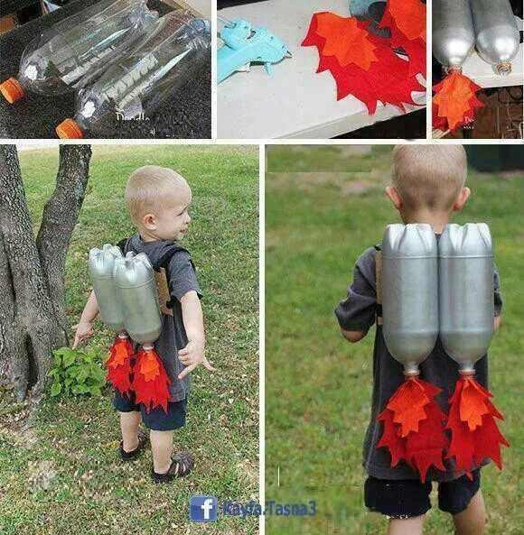 Jetpack! Kid Stuff Pinterest - homemade halloween decorations for kids