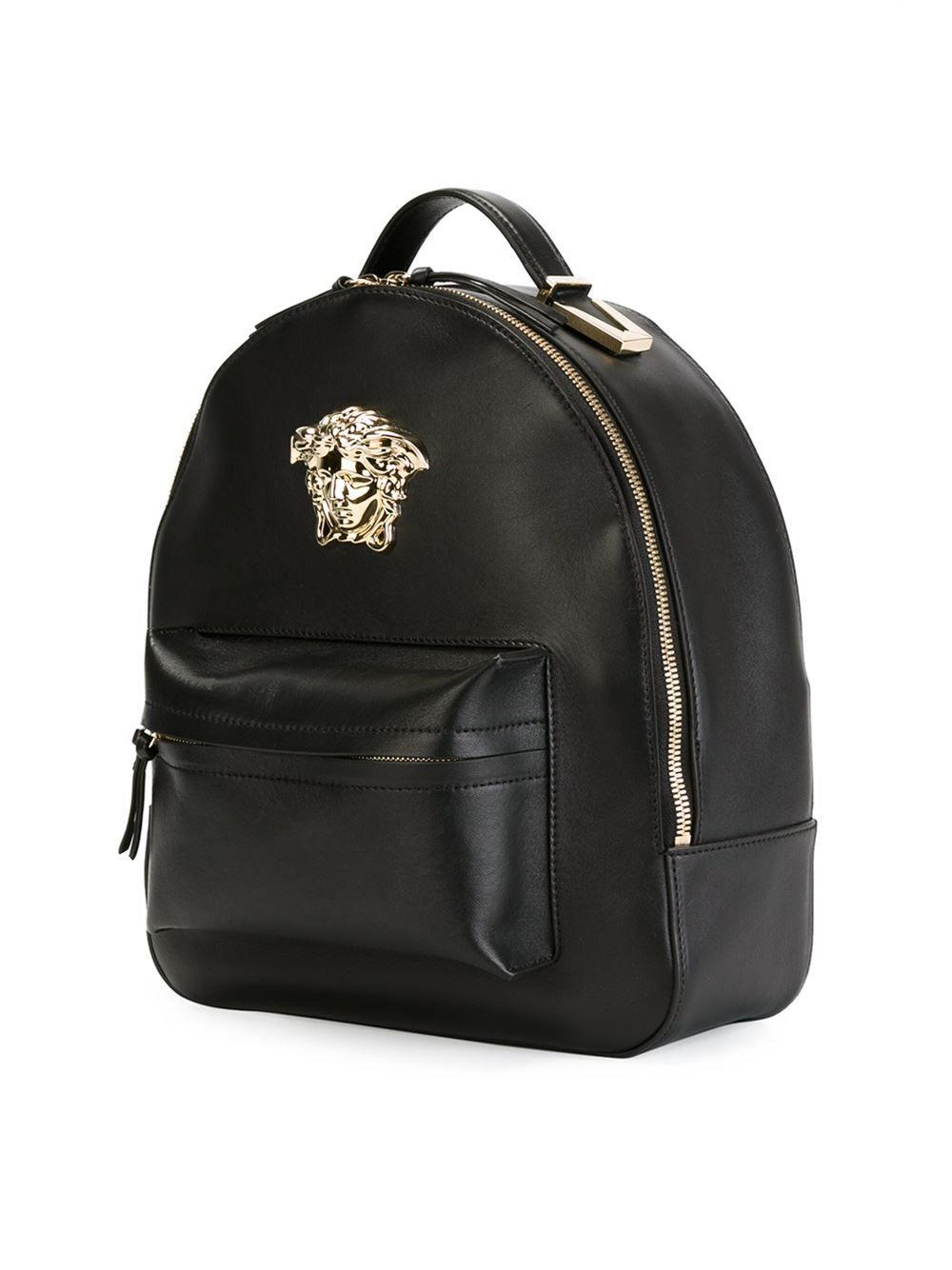03173acf4a Versace Mochila de couro