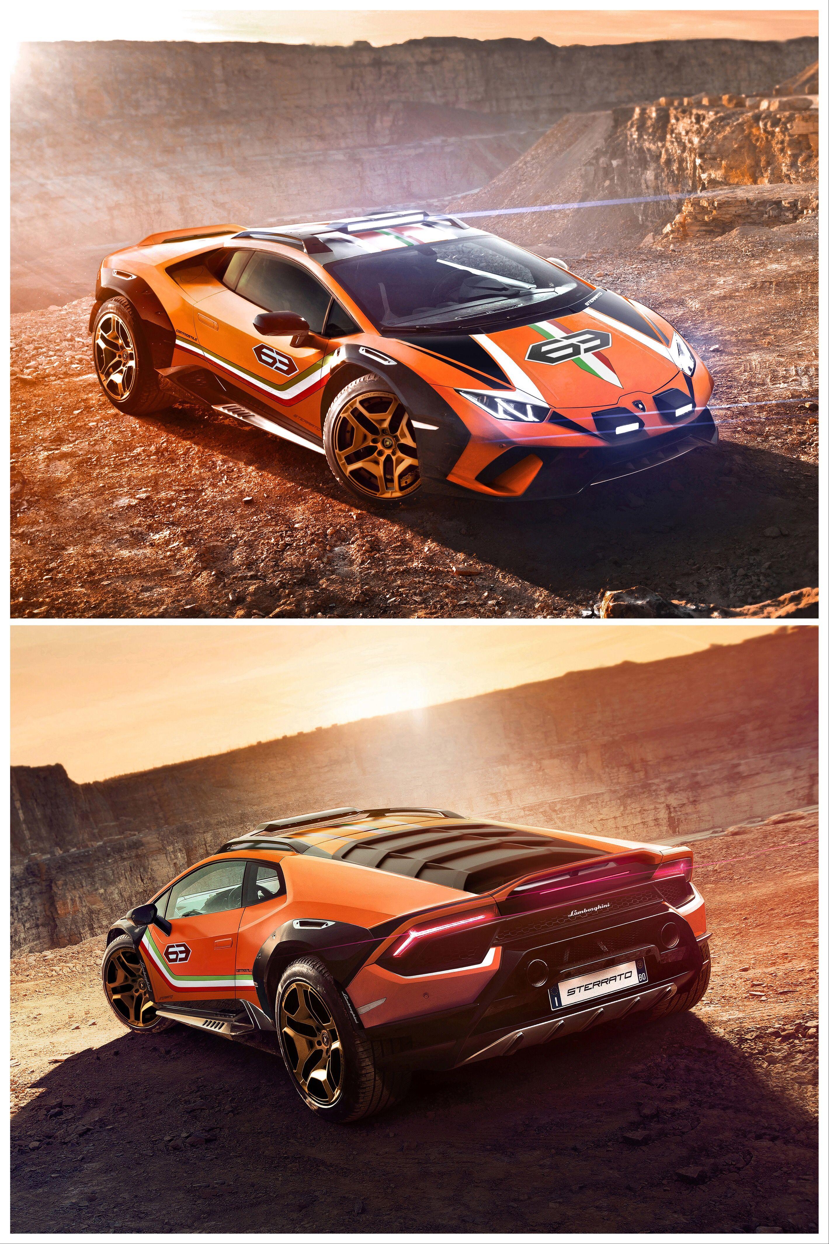 The Lamborghini Huracan Sterrato Is An Off Road Supercar Super Cars Lamborghini Lamborghini Huracan