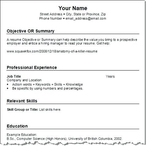 Best Way To Post Resume Online - The best estimate professional - examples of professional summary for resume