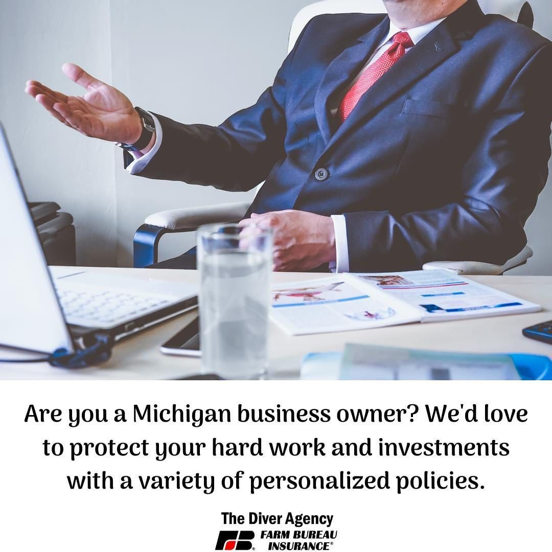 In these uncertain times, it's important to make sure that all of your assets are properly protected, especially if you are a business owner. Looking for a policy that will protect all of your hard work and investments? Call us today for a free quote; we would love to work with you to find a policy that's personalized to fit all of you and your business' needs! . . . . . . . . . . #ThinkAboutItThursday #BusinessInsurance #MichiganBusinessOwners #smallbusinessowner #family #familybusiness #insura