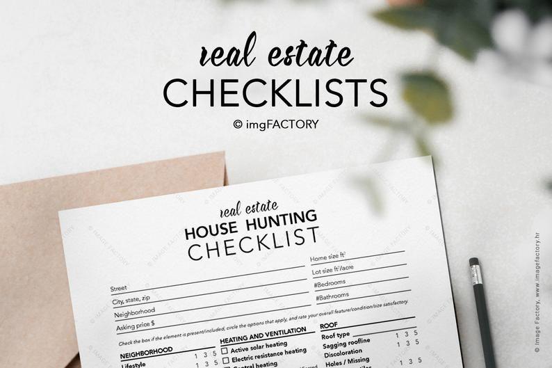Pin On Realtor Checklist