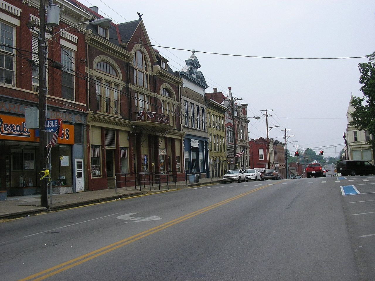 Carlisle Historic District in Nicholas County, Kentucky.