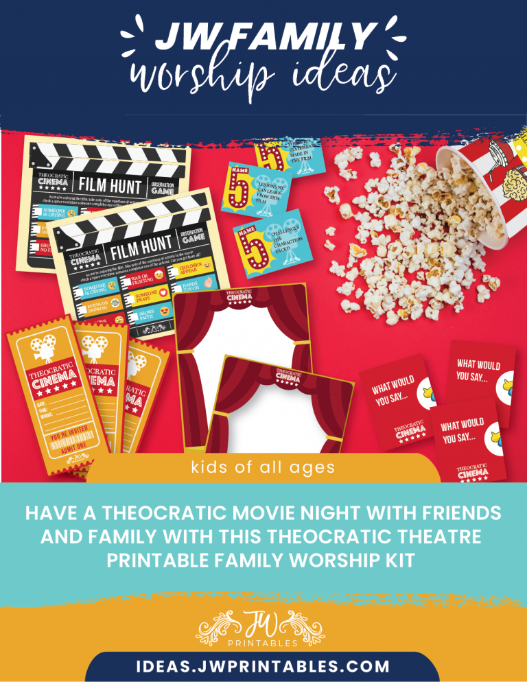 Theocratic Theater JW Family Worship Kit™ in 2020 (With