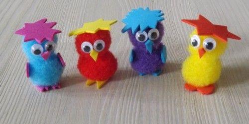 Comme les enfants avait envie de faire un bricolage pour - Bricolage facile a realiser ...