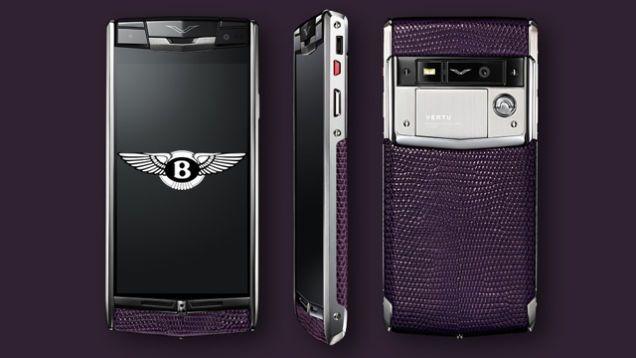 Vertu Signs Exclusive Deal with Bentley