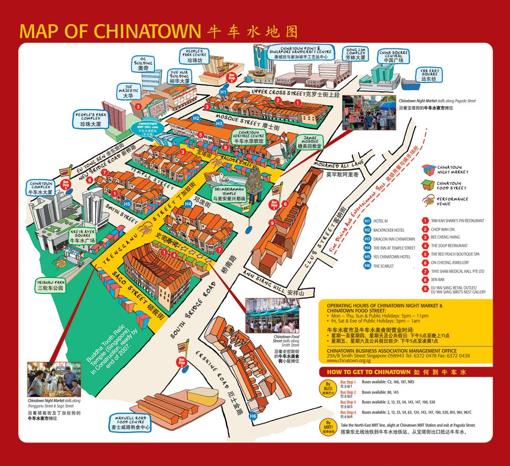 New Town Plaza Food Court In Hong Kong: Chinatown Singapore • Mappery