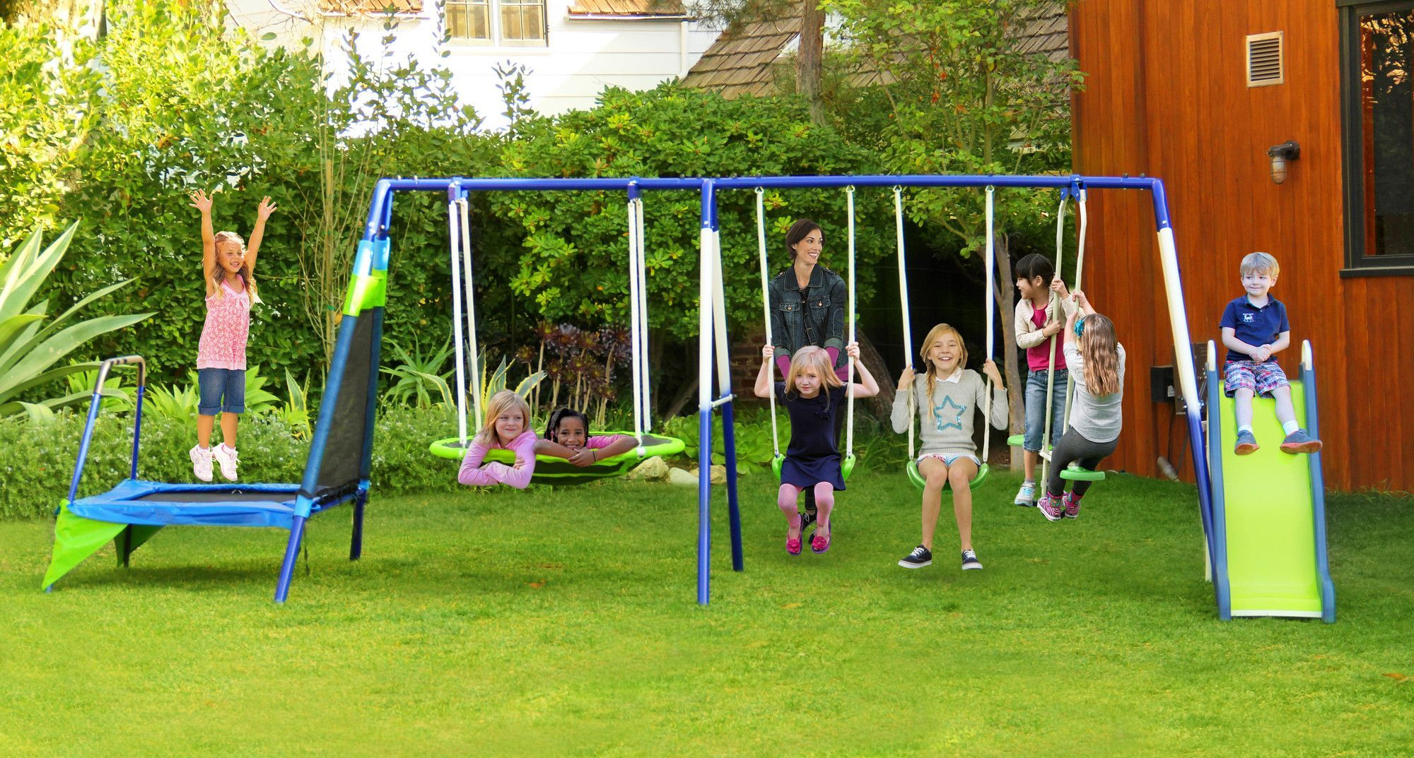 Mountain View Swing Set Products Pinterest Play Swing Set